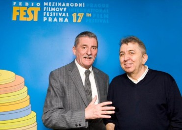 Martin Huba a Fero Fenič, Zdroj: pořadatel