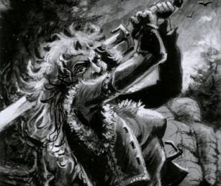 Martina Šrámková: Doba krkavců (ilustrační)