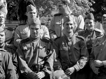 Osvobození Brna, Foto: Michal Eger, orechov1945.cz