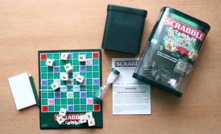 Scrabble Scramble - balení, Foto: Hana Vítová, Topzine.cz