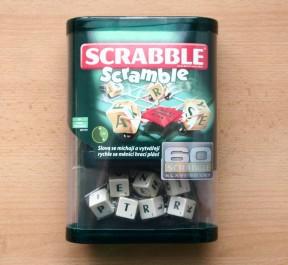 Scrabble Scramble - balení v obchodě, Foto: Hana Vítová, Topzine.cz