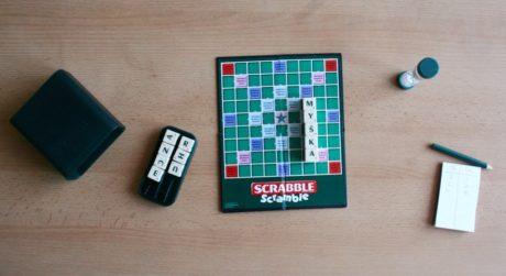 Scrabble Scramble - rozehraná hra, Foto: Hana Vítová, Topzine.cz