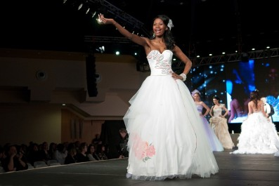 Nancy Johanides v jednom ze soutěžních modelů, foto: Vojta Herout