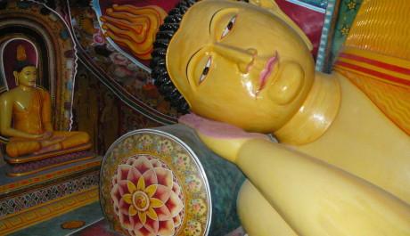 FOTO: Součástí výstavy je i buddhistická svatyně