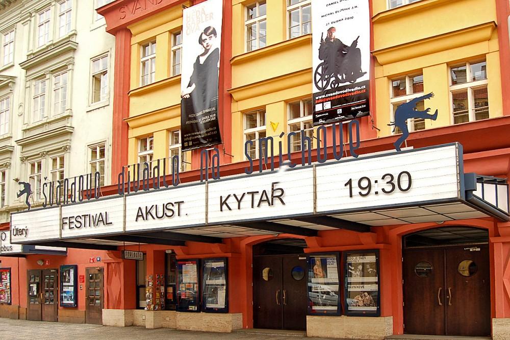 Foto: Budova Švandova divadla na Smíchově