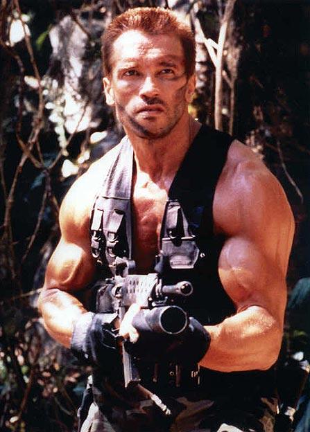 Arnold se v predátorské džungli nebál.