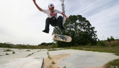Skateboard - Heelflip