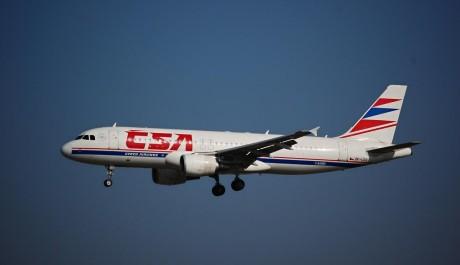Foto: Letadlo ČSA