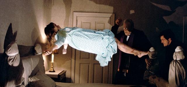 scéna z filmu Vymítač ďábla