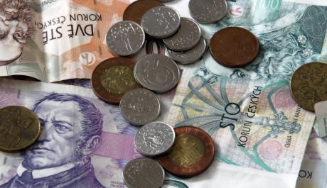České bankovky a mince, Foto: Tomáš Lénárd, Topzine.cz