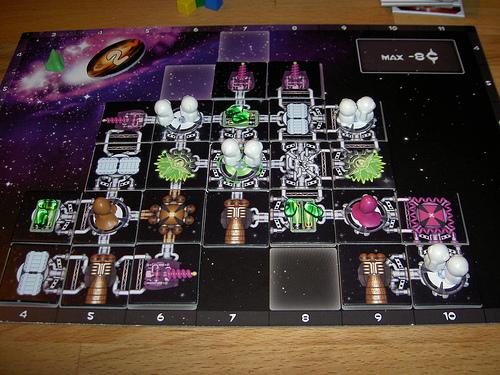 Galaxy Trucker - stavění lodě