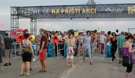 FOTO: Atmosféra na Rock for People 2009