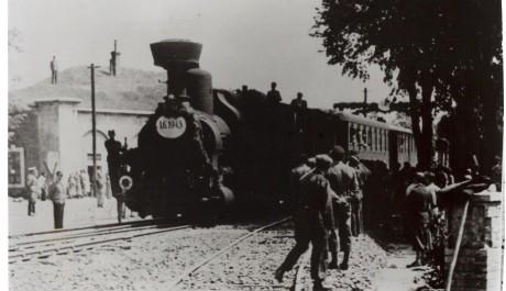 Ilustrační foto-příjezd vlaku do pevnosti Terezín