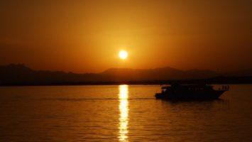 FOTO: Západ slunce v Afgánistánu