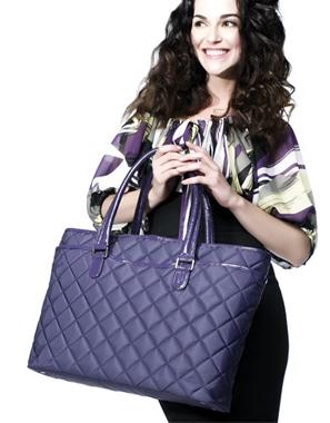Luxusní kabelka na notebook, Zdroj: knomobags.com