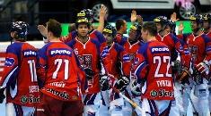 Čeští in-line hokejisté se radují z bronzu