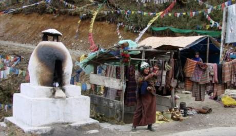FOTO:Život v Bhútánské vesnici
