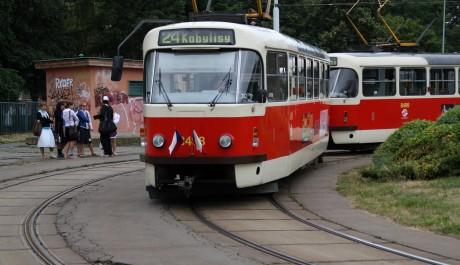 FOTO: městská hromana doprava v Praze