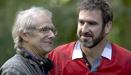 FOTO: Ken Loach a Eric Cantona