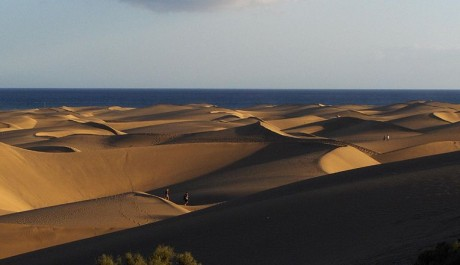FOTO: Písečné duny Maspalomas