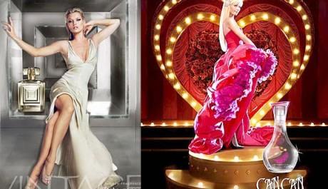 FOTO: Parfémy od Kate Moss A Paris Hilton