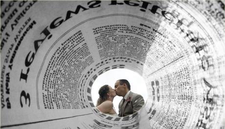 KOLÁŽ: Láska v novinách