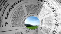 KOLÁŽ: Noviny a příroda