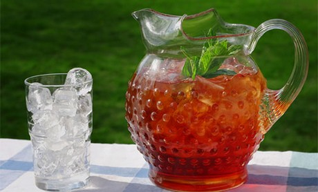 FOTO: Ledový čaj