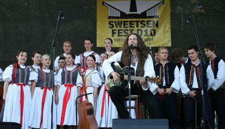 FOTO: Tomáš Kočko na Sweetsen festu 2010 ve Frýdku-Místku
