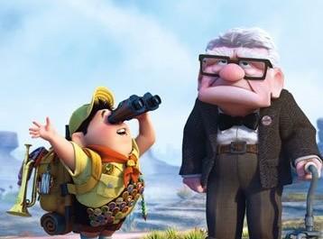 Russel a pan Fredricksen