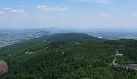 FOTO: Výhled z Ještědu