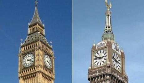 FOTO: Big Ben a Hodiny v Mecce