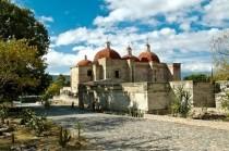 FOTO: Mitla v Centrálním údolí Oaxaca