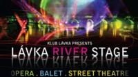 Plakát k projektu LÁVKA RIVER STAGE