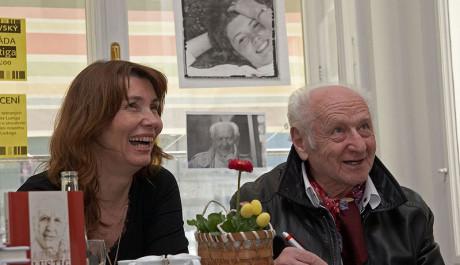 Arnošt Lustig s Markétou Mališovou