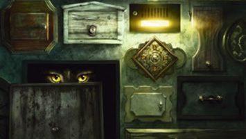Ilustrace na obálce knihy Sto tajných dvířek Autor: Jeff Nentrup