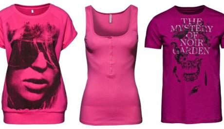 FOTO: Růžové oblečení