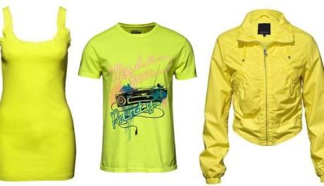 FOTO: Žluté oblečení New Yorker