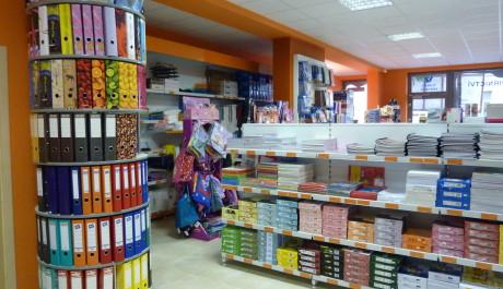 Papírnictví, nejnavštěvovanější obchod malých školáků