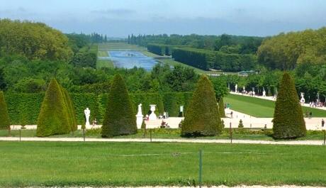 Zahrady Versailles