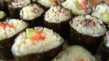 FOTO: Základní druh sushi - Maki