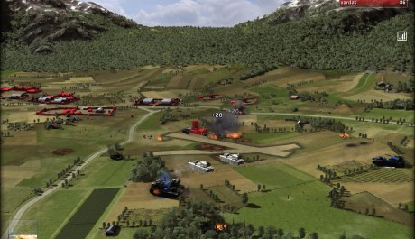 Screenshot RUSE bojiště