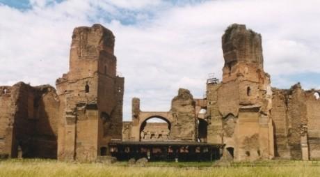 FOTO: Caracallovi lázně