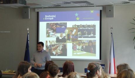 FOTO:Seminář Rozhoduj o Evropě
