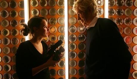 FOTO: Dokumentaristka Olga Špátová s architektem Janem Kaplickým