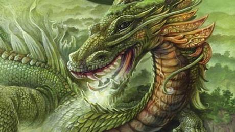 Ilustrace na obálce antologie Legendy: Draci Autor: Jana Šouflová