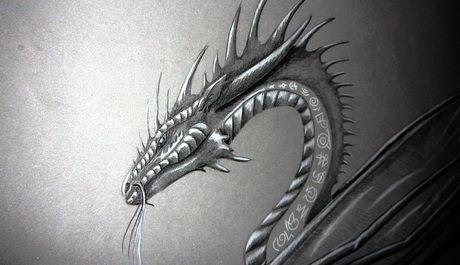 OBR: Obrázek draka, výstava Draci.info na Festivalu fantazie 2010