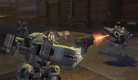 Front Mission: Evolved - souboj