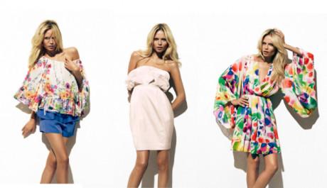 FOTO: Květinové šaty z kolekce H&M jsou pravou inspirací z přírody