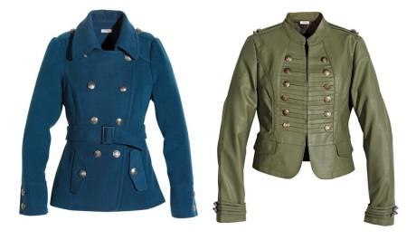 FOTO: Kabátky ve vojenském stylu